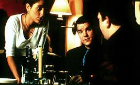 I criminali da Brooklyn (a destra) che vogliono comprare (o rubare) il ristorante.