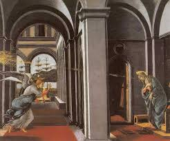 Sandro Botticelli: The Annunciation (1490)