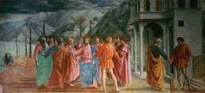 Masaccio: Il Tributo (1425)