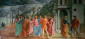 Masaccio: The Tribute Money (1425)