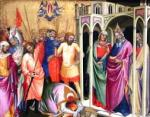 Lorenzo Monaco:  The Martyrdom of Pope Caius (c. 1394)