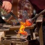 Making glass in Murano